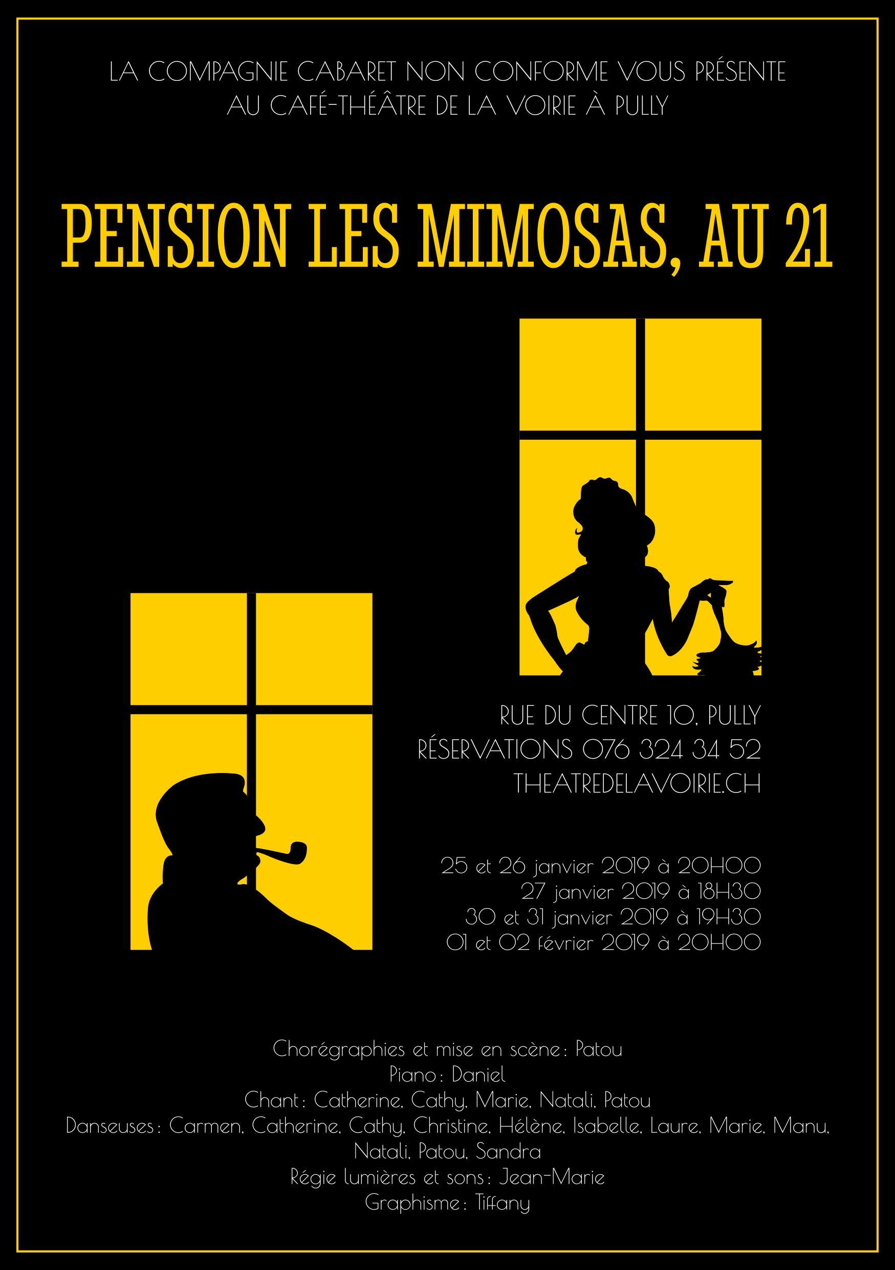 Pension les mimosas